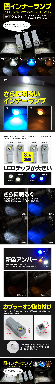 3chip SMD インナーランプ